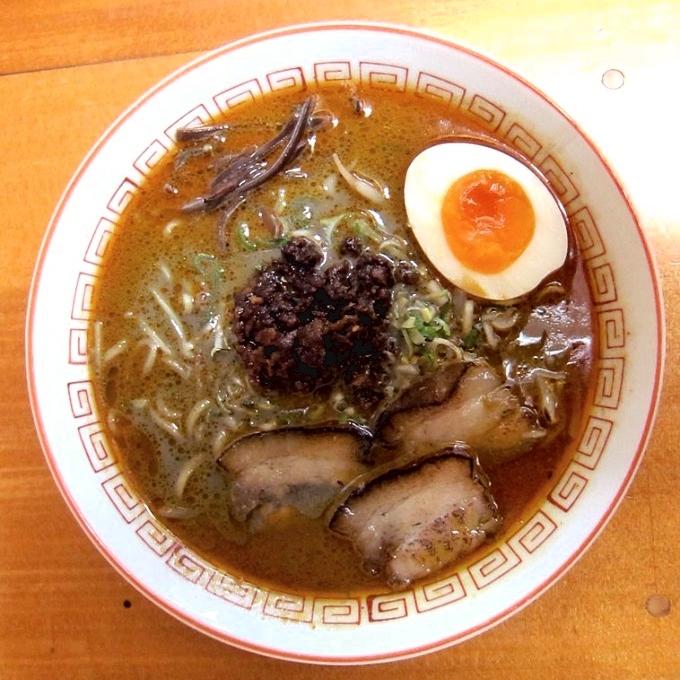 麺味どころ 夢源「黒むげんラーメン」