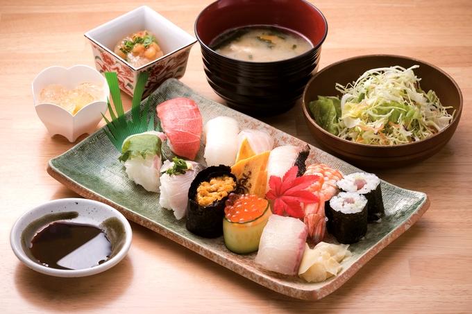 えびす食堂「特選にぎり寿司定食」