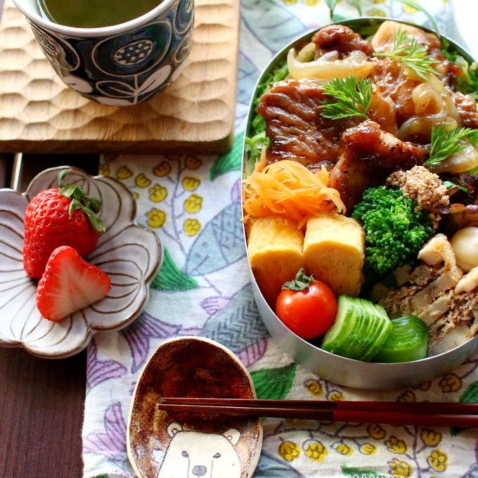 kyoko_plusさん、ある日の弁当A