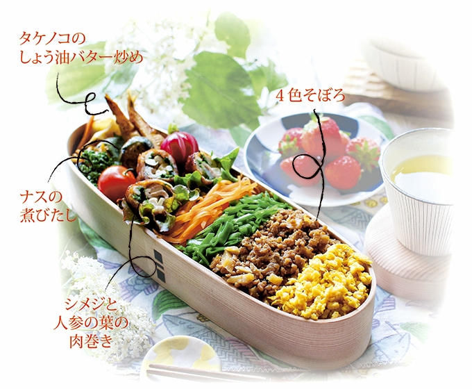 kyoko_plusさんのレシピ解説お弁当