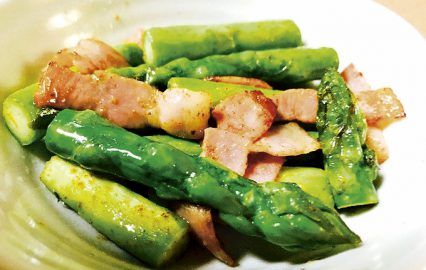 古い記事: アスパラガスのマヨ炒め | かごしま旬野菜レシピ