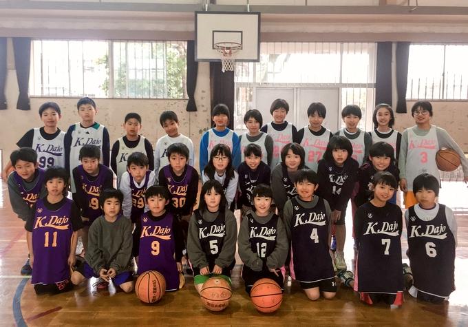 加治木・柁城ミニバスケットボールスポーツ少年団
