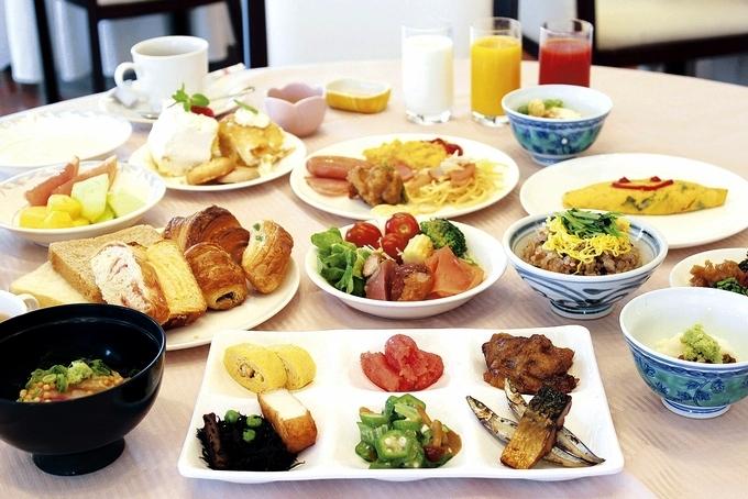 城山ホテル鹿児島の朝食バイキング