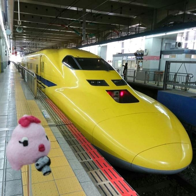 博多駅でドクターイエローに遭遇