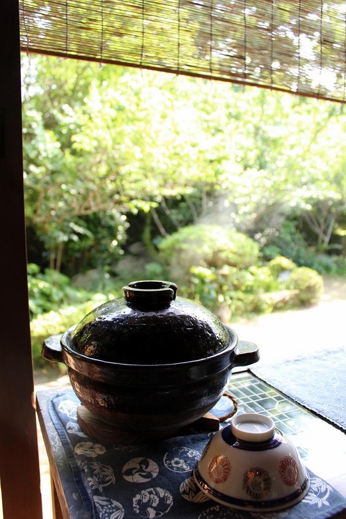 梅里「篤姫御膳」の土鍋ご飯