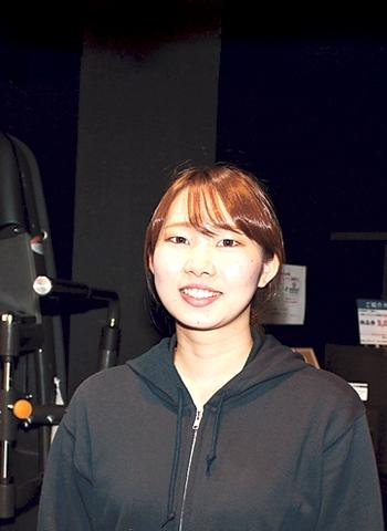 ワールドプラスジム天文館スタッフ櫻井沙也香さん