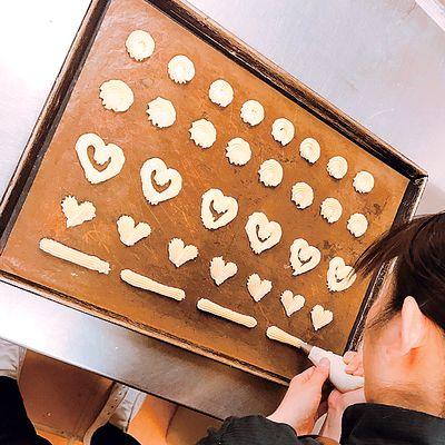 クッキー絞り例