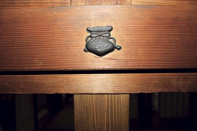森山家住宅 主屋に使われている釘隠