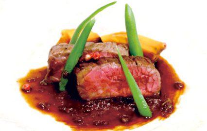 古い記事: 鹿児島県産黒毛和牛のロースト 赤ワインと黒酢のソース | 黒