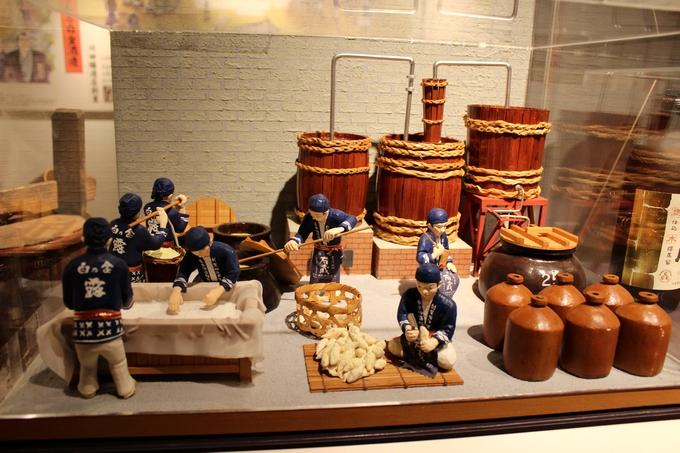 石蔵ミュージアム「焼酎造りの模型」