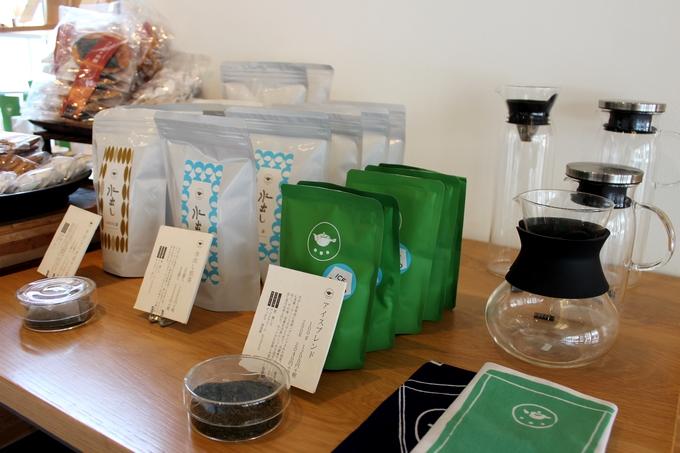 すすむ屋茶店「水出し用のお茶」