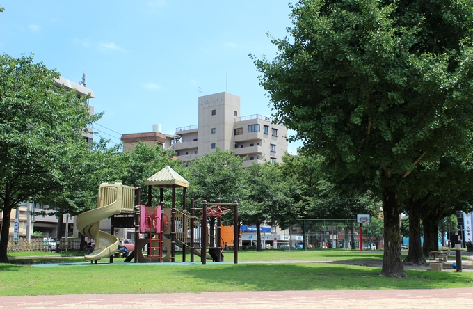 共研公園の遊具広場