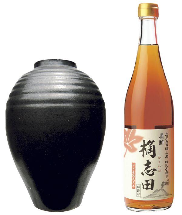 黒酢_桷志田・福山黒酢