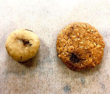 クッキーの成形