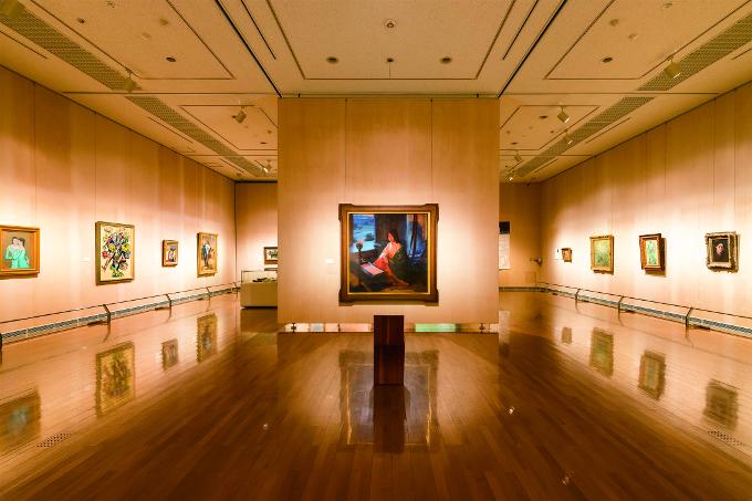長島美術館展示室