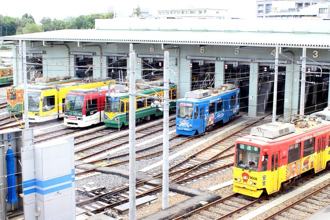 鹿児島市電の車両基地