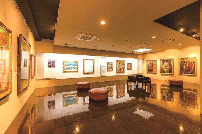 三宅美術館展示室