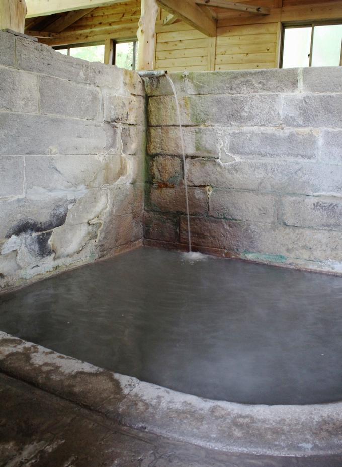 栗野岳温泉 南洲館「竹の湯」浴室