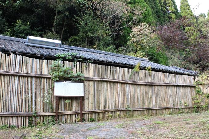 西郷がお礼に贈った土地に建てられた家
