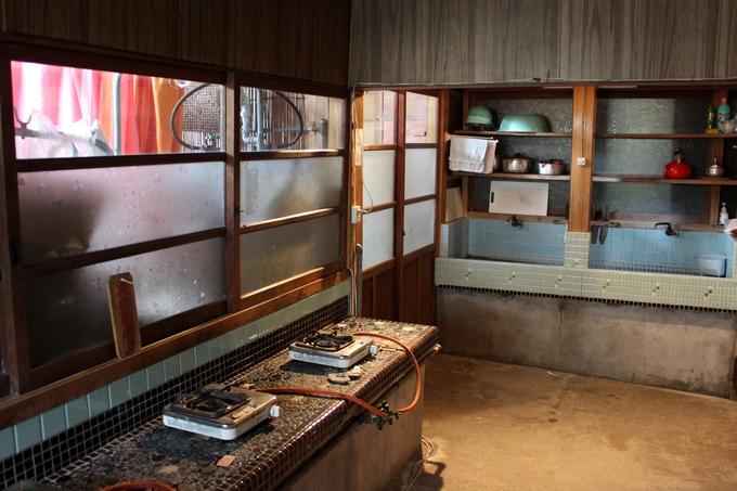 中島温泉旅館の自炊設備