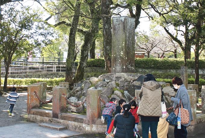 西郷隆盛誕生地石碑