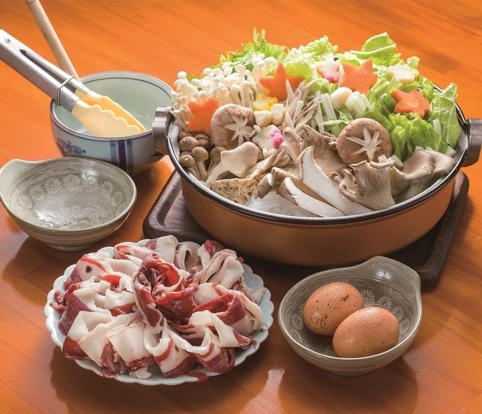 お食事処 志「ムジナすき焼き」