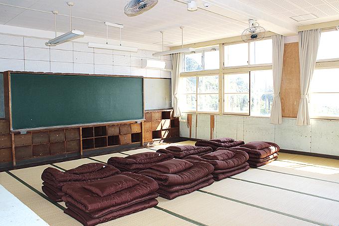 ユクサおおすみ海の学校「大部屋」