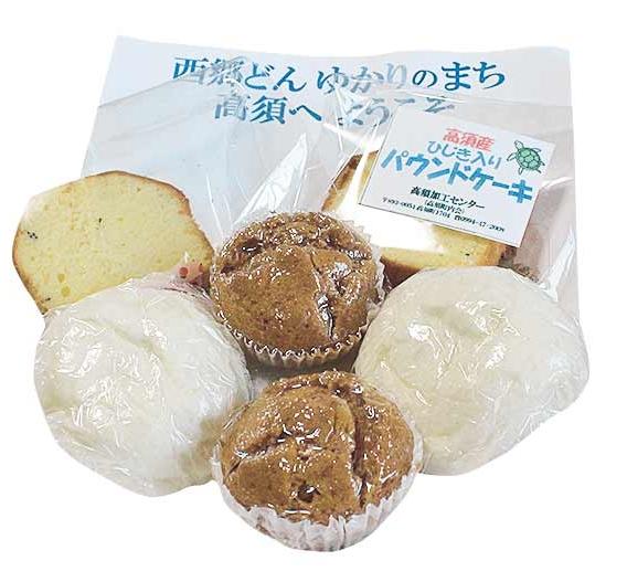 ガイドツアーで配る高須の菓子
