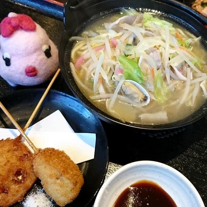 山田食堂ととや「海鮮ちゃんぽん」