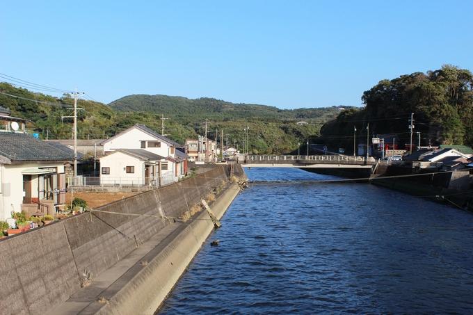 高須川河口付近