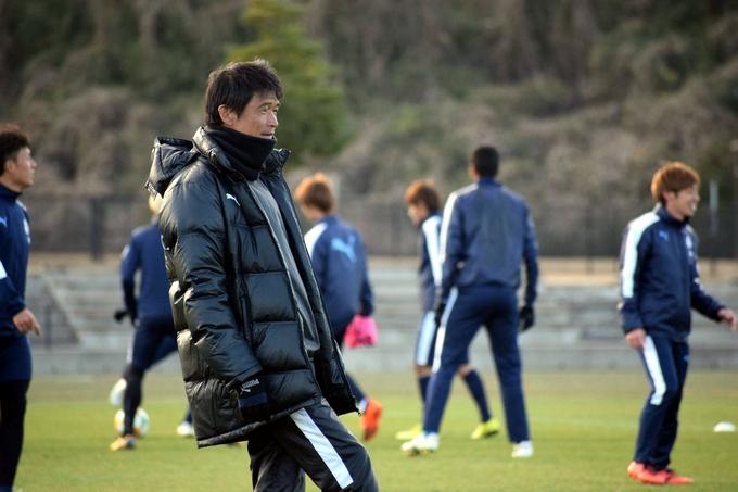 鹿児島ユナイテッドFC:金鍾成監督