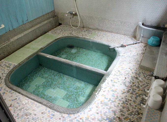 川内高城温泉共同湯浴槽