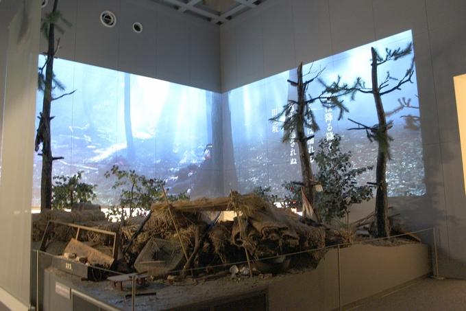 田原坂西南戦争資料館体感展示室