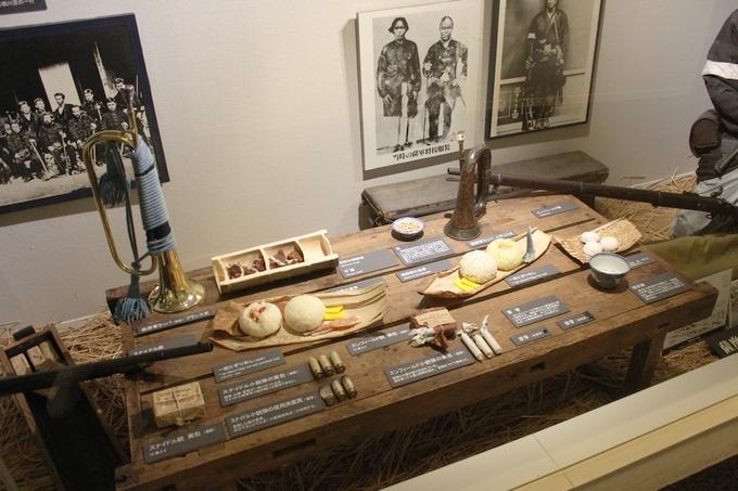 田原坂西南戦争資料館展示物