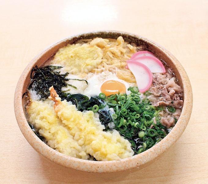 トラックターミナル食堂「桜島うどん」