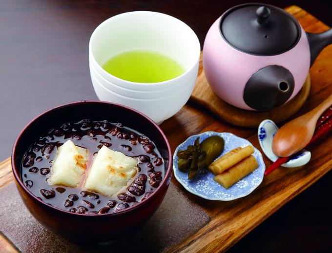Green Teashop 茶暢家「ぜんざいプレート」