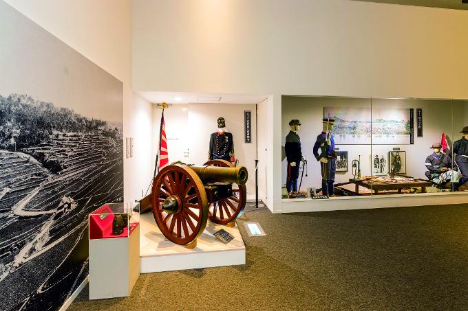 田原坂西南戦争資料館展示室