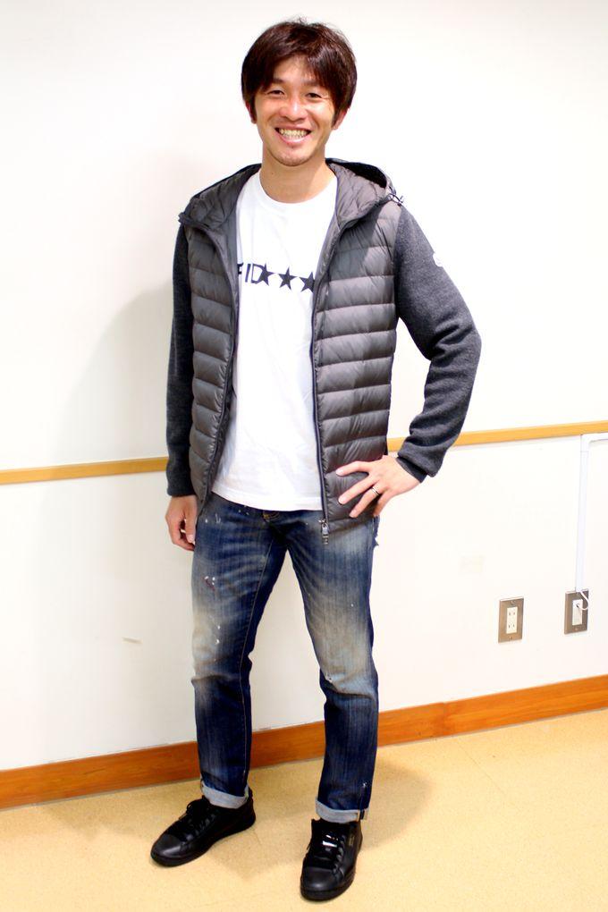 鹿児島ユナイテッドFC:MF/八反田康平選手私服
