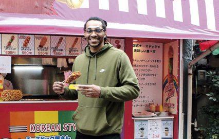 鹿児島レブナイズ センター #50 ジージオ・ベイン選手