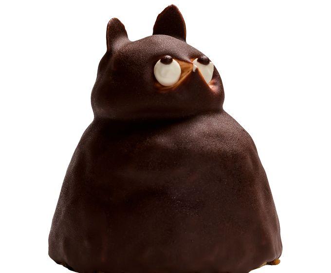 御菓子司 鳥越屋のたぬきケーキ