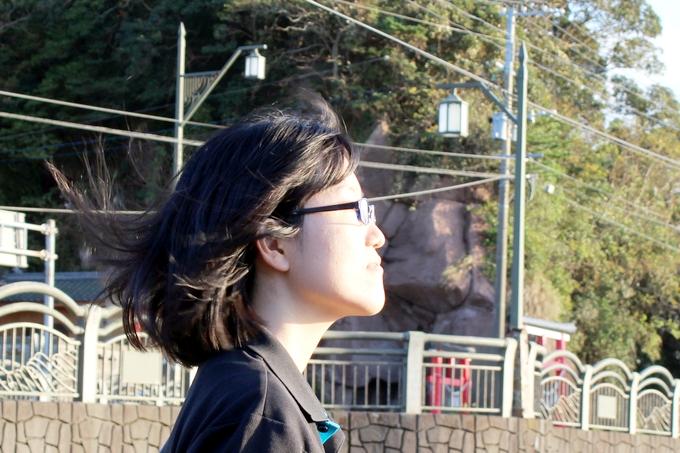 川津神社の西郷岩