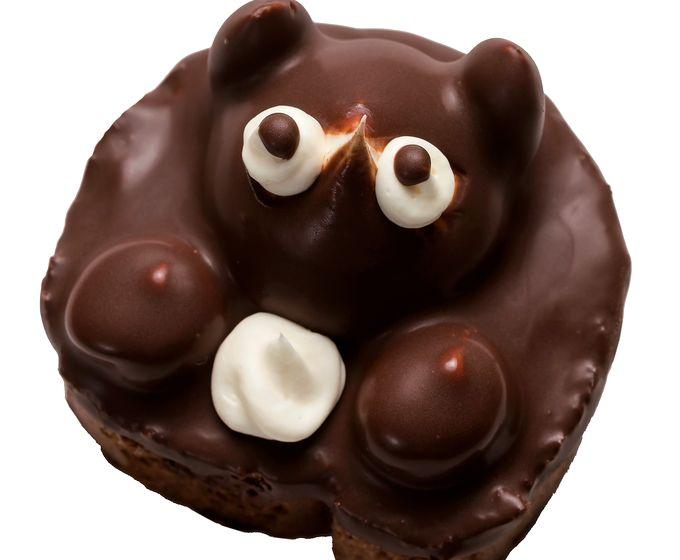 梅月堂のたぬきケーキ