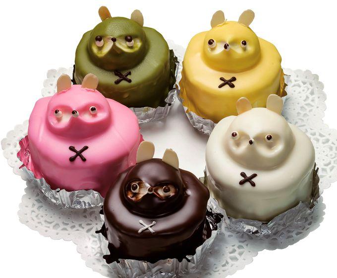 お菓子のかたおかのたぬきケーキ