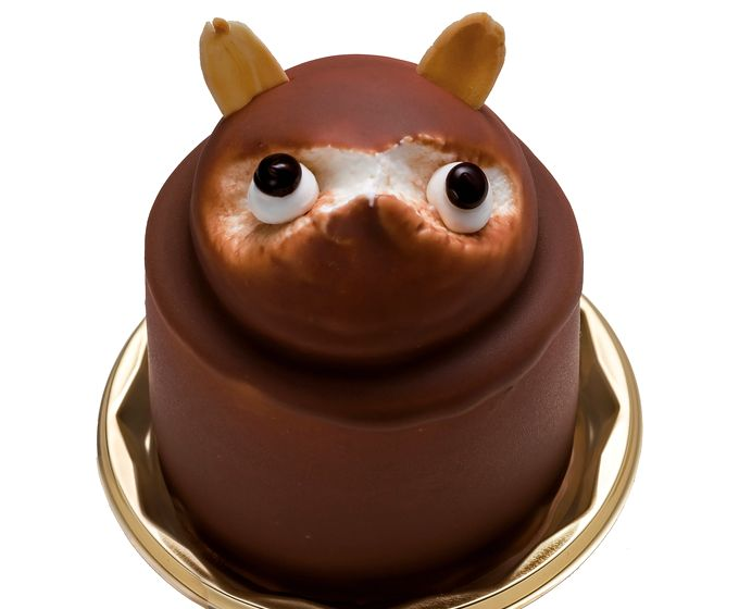 菓子工房タニヤマのたぬきケーキ