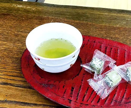 お茶の入れ方②
