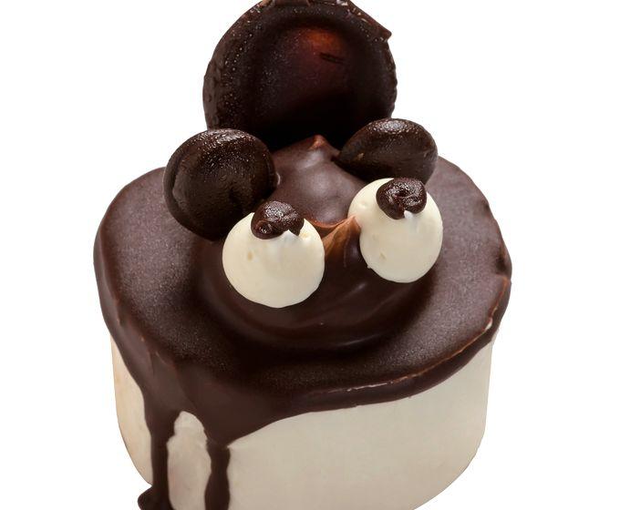 よしくら屋のたぬきケーキ