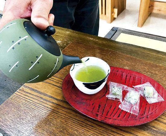 お茶の入れ方③