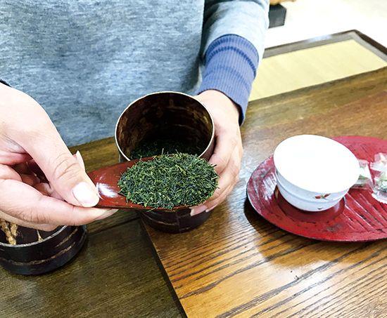 お茶の入れ方①