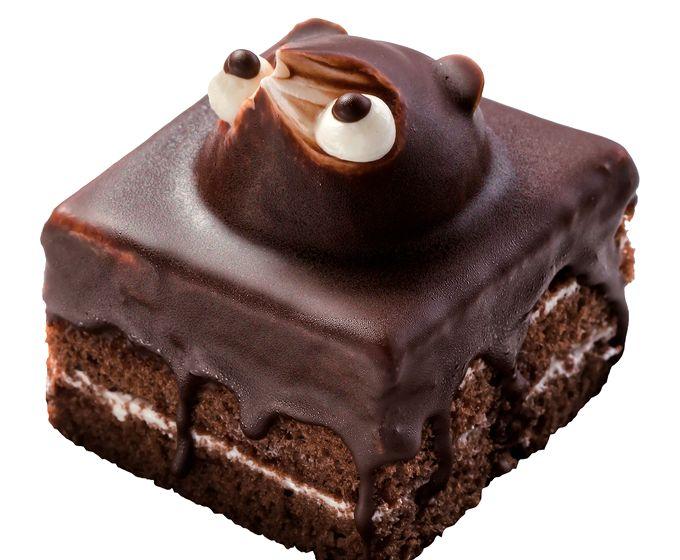 風月堂のたぬきケーキ