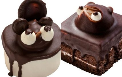 鹿児島市のたぬきケーキたち